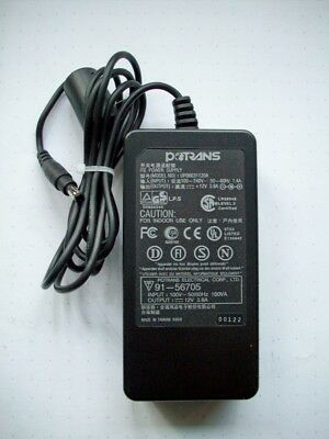 AC Adapter Potrans, Model UP06031120A, Output: 12V 3,8A für Monitore