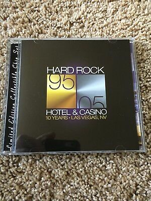 "Las Vegas Hard Rock ""10 Years"" Limited Edition Collectible CD Chip Set"