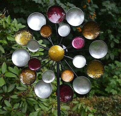 Windspiel Gartenstecker Kinetic Spinner 48cm - Galaxy