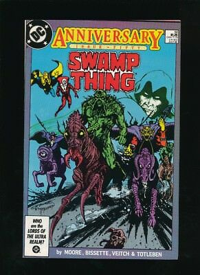 Swamp Thing #50 D.c. Comics 7/1986 1St Full Appearance Justice League Dark