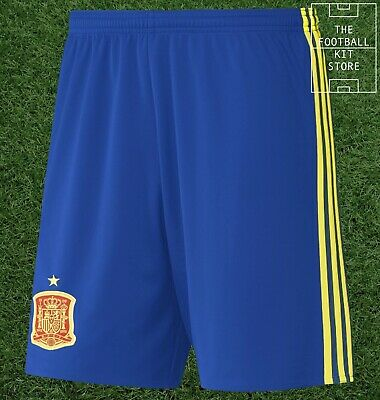 Spain Home Shorts - Official adidas Football Shorts - Mens - All Sizes