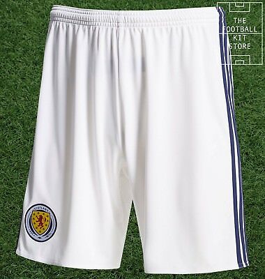 Scotland Home Shorts - Official adidas Football Shorts - Mens - All Sizes