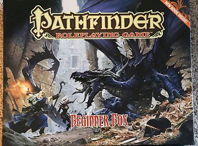 Pathfinder Role Playing Game Beginner Box Unpunched 2nd Edition Extra Book Paizo