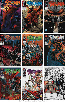 Spawn 1 Lot of 25 #2 3 4 5 6 7 8 9 10 11 12 13 14 15 16 17 18 19 21 22 23 26 26