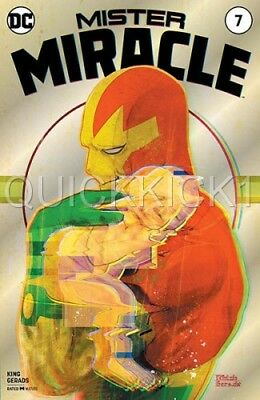 Mister Miracle #7 Silver Foil Variant Cover Wondercon Exclusive Comic Book! Mint