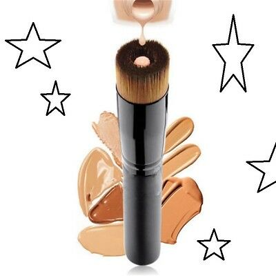 OMG Most Amazing Brush Ever! Liquid Foundation Multi Use Makeup Brush Fast Ship