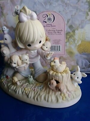 """Precious Moments """"Collecting Friends Along the Way"""" #PM002 Members only NIB"""