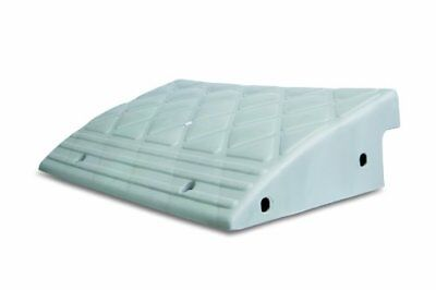 MAXSA Curb Ramp. Durable Lightweight Plastic Multi-purpose Ramp to Bridge Cur...