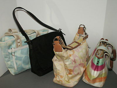 Coach Lot 4 Shoulder Bags