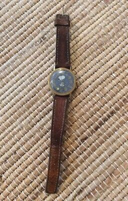 Snoopy tennis watch 1958 united feature syndicete mechanical Wind Up Working Wat