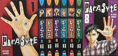 Parasyte  (Vol. 1 - 8)  English Manga Graphic Novels Set Lot complete NEW Lot
