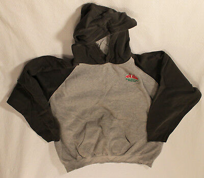 Papa Johns Green Grey Pull Over Hoodie 3XL (Fits more like XL)
