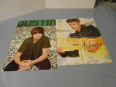 Justin Bieber HUGE lot of posters  clippings #C006