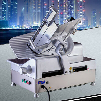 Commercial Electric Frozen Meat Cheese  Slicer machine Automatic 110v