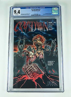 Cry for Dawn 1 CGC 9.4 CFD Publications 12/89 1st app Dawn