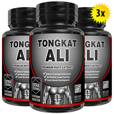 100% Pure Tongkat Ali 200:1 Root Extract Longjack Pasak Bumi Super Strength