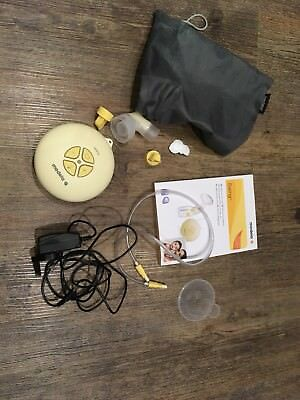 Medela Swing Breast Pump With Spare Unused Valves And Breast Milk Bags