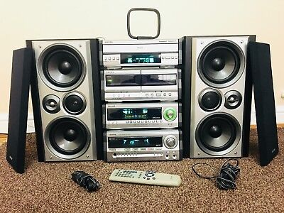 Aiwa MX -NH1100 Hi Fi System Separates excellent condition