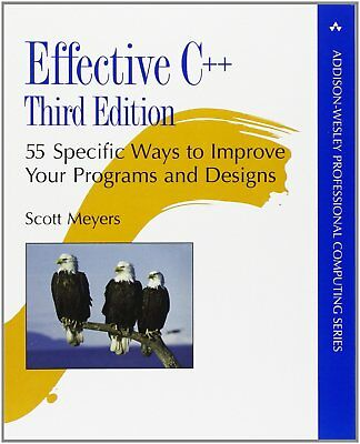 Effective C++: 55 Specific Ways to Improve Your Programs and Designs (Profess...
