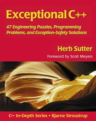 Exceptional C++ by Herb Sutter