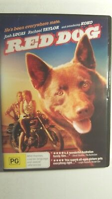 Red Dog [ DVD ] LIKE NEW, Region 4, FREE Next Day Post from NSW