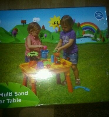 Tropical multi sand and water table brand new