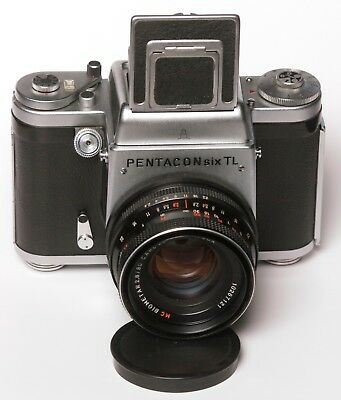 PENTACON six TL + BIOMETAR MC 80mm f /2.8 lens *****EXCELLENT***** #0657