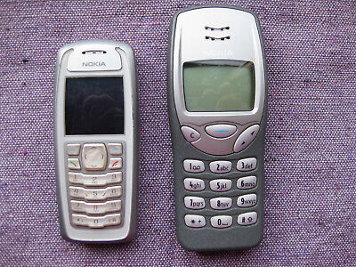 Two Nokia Phones with batteries