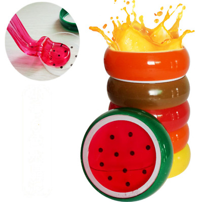 Creative Fruit Crystal Clay Putty Jelly Slime Plasticine Mud Educational DIY Toy
