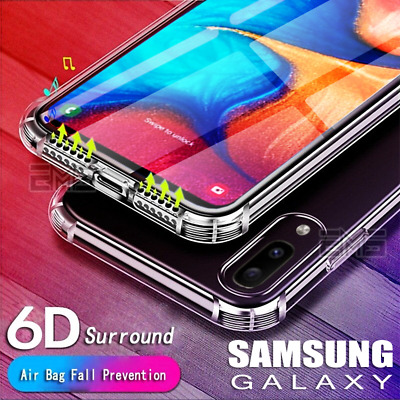 Samsung Galaxy A20 A30 A50 J2 J5 J7 Pro Clear Case Shockproof Tough Bumper Cover