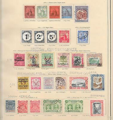 British Colonies stamps Collection of 28 stamps HIGH VALUE! Specimen