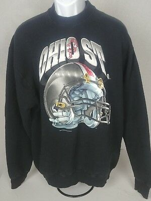 official photos cafc8 a1671 VTG Ohio State Buckeys Crewneck Sweatshirt Salem Sports Football Helmet Sz  XL