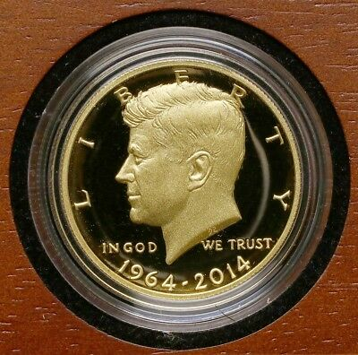 2014-W Kennedy 50th Anniversary Gold PROOF Coin * 3/4 Troy Oz Gold
