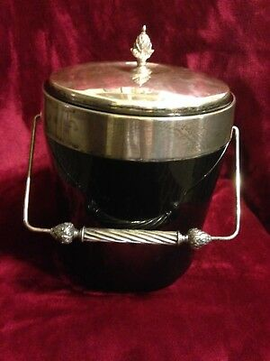 Gorham Ice Bucket, Silver Plated, Collector Antique