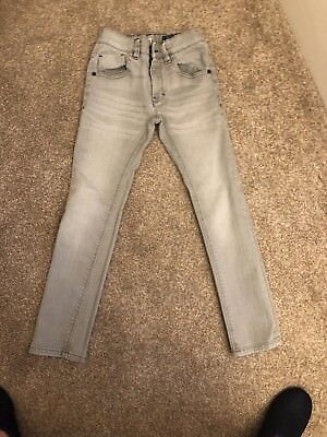 Boys Pale Grey Super Skinny Jeans From Next Age 9 Years