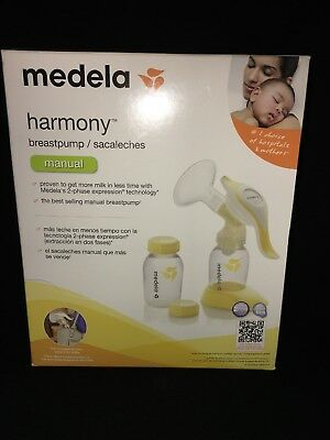 Medela Harmony Manual Breast Pump 2 Phase Expression BPA FREE New In Package