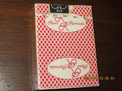 Rare SEALED deck from the Ramada Reno casino playing cards poker