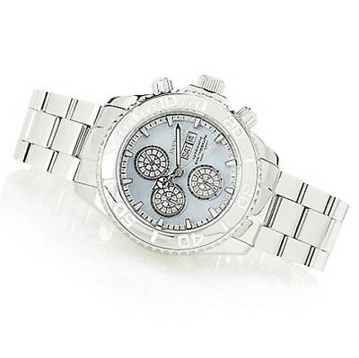 b19af39d8 Invicta Reserve Men's 47mm Pro Diver Ltd Ed Swiss Automatic Chrono Diamond  Watch