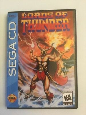 Replacement Case (NO GAME!) Lords Of Thunder - Sega CD