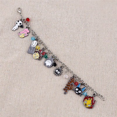 My Neighbour Totoro Bracelet Spirited Away Castle Design Lovely Characters Decor