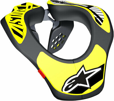 Alpinestars MX/Motocross Kids Neck Support (Black/Yellow) Youth