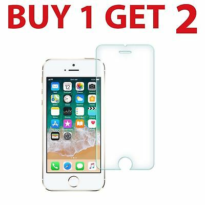 2x Tempered Glass Screen Protector For iPhone SE New