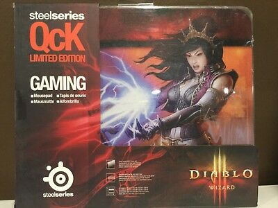 SteelSeries QCK Limited Edition Gaming Diablo Wizard Mouse Pad