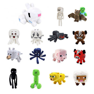 15 Styles toy Stuffed Plush Toys 16-26cm toy Creeper Enderman Wolf