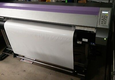 """Mimaki JV33-160 64"""" w/Take up reel & permanent chips / NEEDS SERVICE"""