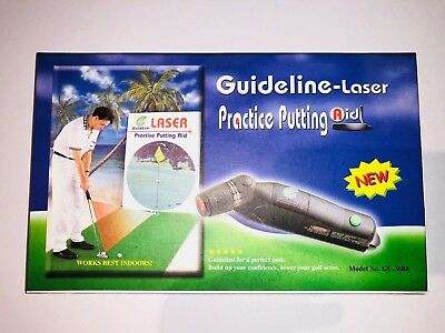 Guideline-Laser Practice Putting Aid