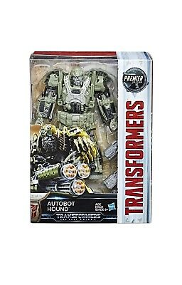 Autobot Hound Transformers The Last Knight Premier Edition Figure -Voyager Class