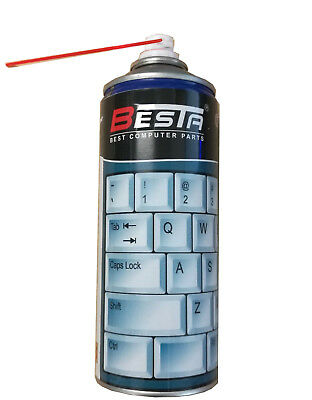 BESTA Compressed Air Duster Laptop cleaning set 400ml CAN