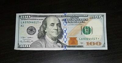 100 Doller Bill *STAR EDITION* FEDERAL RESERVE NOTE