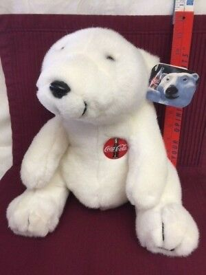 Vintage 1993 Coca Cola Bear in Excellent Condition! with Tags